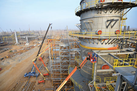 Details on high-impact refining and petrochemical projects presently under construction, as chosen by HP editors and readers