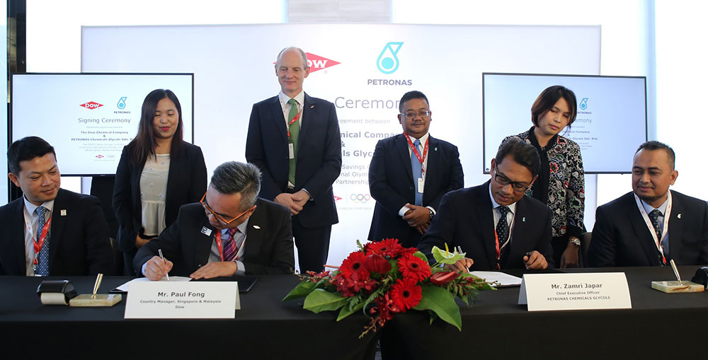 Dow collaborates with PETRONAS Chemicals Group for its first carbon