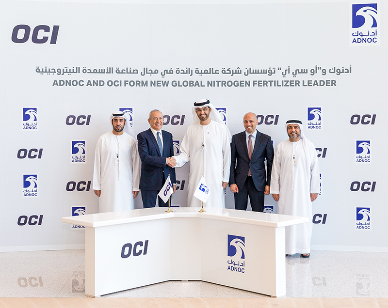 ADNOC forms joint venture, creating new global nitrogen