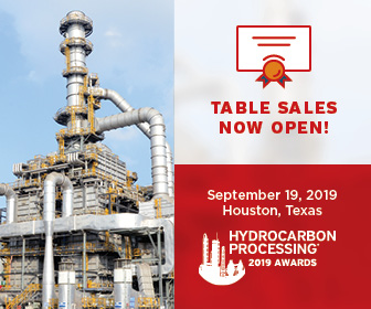 Hydrocarbon Processing 2019 Awards finalists