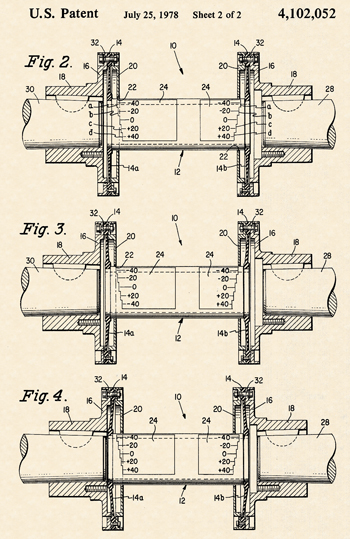 Fig. 3: Patent diagram for diaphragm-style couplings.